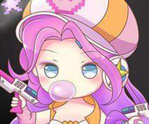 arcade, chibi, and league of legends image