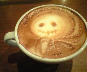 coffee, jack, and jack skellington image