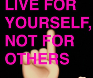 for, live, and quote image