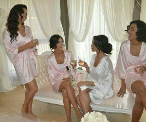 Beautiful Girls, beauty, and champagne image