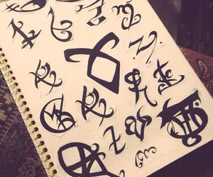 art, fandom, and runes image
