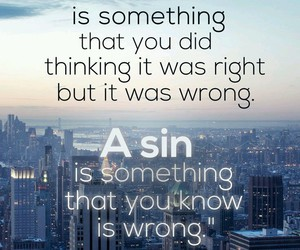 sin, islam, and mistake image