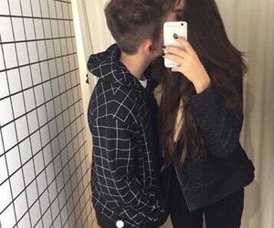 boyfriend, dark, and girlfriend image