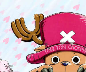 anime, one piece, and chopper image