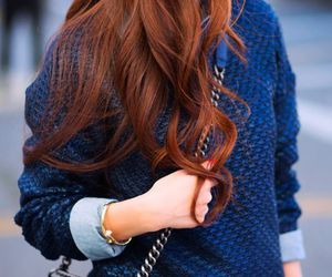 ginger, red hair, and style image