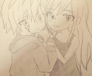 draw, manga, and erza image