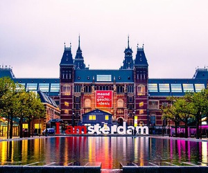 amsterdam, beautiful, and sky image
