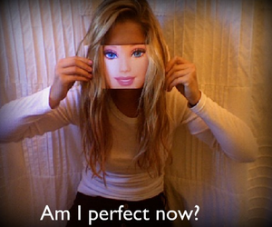 barbie and perfect image