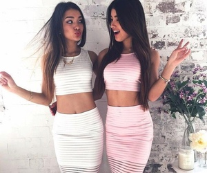 fashion, friends, and pink image