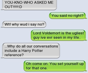 harry potter, funny, and text image