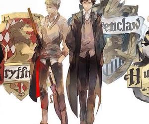 sherlock, hogwarts, and john image