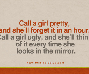 quote, call, and girl image