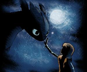 dreamworks, how to train your dragon, and toothless image