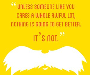 Dr. Seuss and quote image