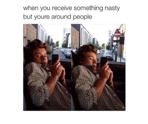 funny and Harry Styles image