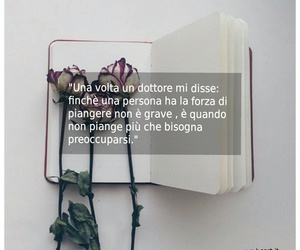 book, doctor, and flowers image