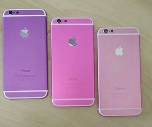 iphone, pink, and purple image