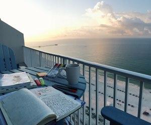 study, sea, and studyspo image