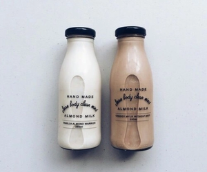almond milk, chocolate, and delicious image