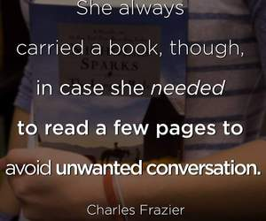 books, girls, and quotes image