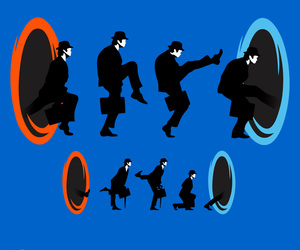 funny, ministry of silly walks, and monty python image