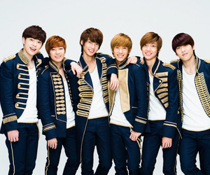 boyfriend, jo youngmin, and lee jeongmin image