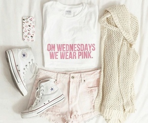 converse, love, and outfit image