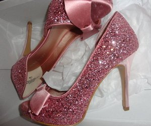 pretty in pink and ideal shoes image