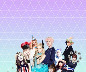 Collage, exo, and girls generation image