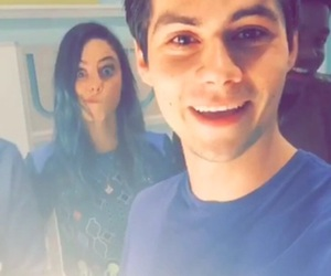 dylan o'brien, KAYA SCODELARIO, and teen wolf image