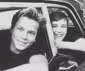 river phoenix, stand by me, and wil wheaton image