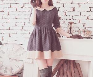 dress, kfashion, and fashion image