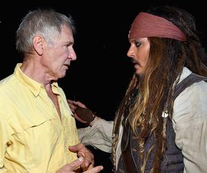 disney, Indiana Jones, and johnny depp image