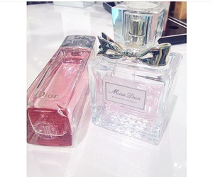 miss dior and perfume collection image