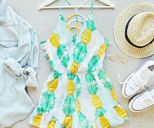 jacket, outfit, and pineapple image