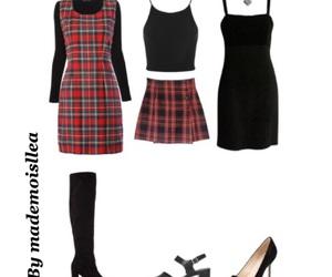 80s, black, and dress image