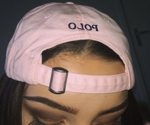 pink, makeup, and Polo image