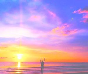 beach, teen, and tropical image