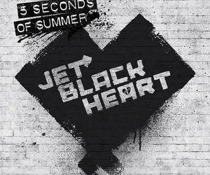 5sos, 5 seconds of summer, and jet black heart image