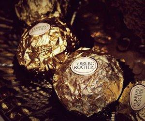 chocolate, ferrero rocher, and sweet image