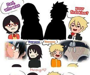 naruto, kakashi, and sasuke image