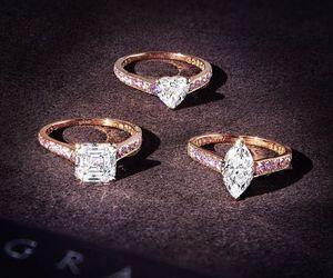 fashion, luxury, and ring image