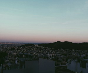 aesthetic, Athens, and mountain image