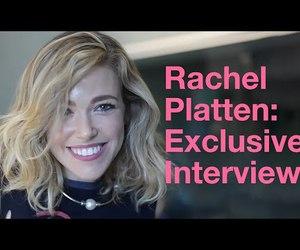 interview, we heart it, and rachel platten image
