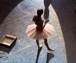ballerina, ballet, and tutu image