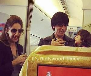 bollywood, shahrukh khan, and gauri khan image