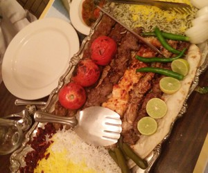 Chicken, food, and iran image
