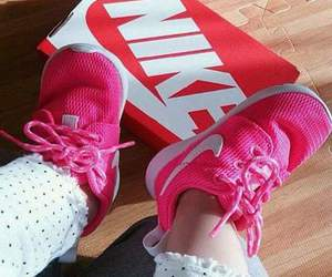 nike, pink, and baby image