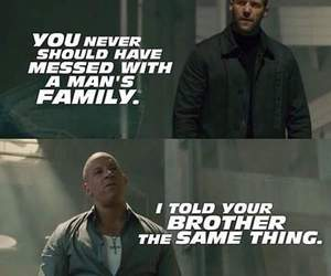 family, Vin Diesel, and fast and furious image