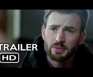 Alice Eve, chris evans, and before we go image